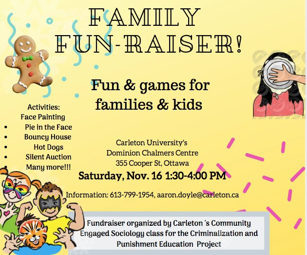 Family Fun-Raiser poster