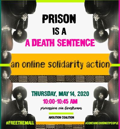 prison is a death sentence webinar poster