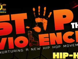 stop the violence hip hop competition banner image