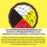 instagram images for supporting indigenous prisoners at OCDC part 2