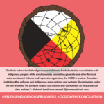 instagram images for supporting indigenous prisoners at OCDC part 3