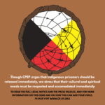 instagram images for supporting indigenous prisoners at OCDC part 4