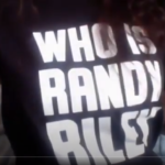 El Jones rocking the who is randy riley shirt