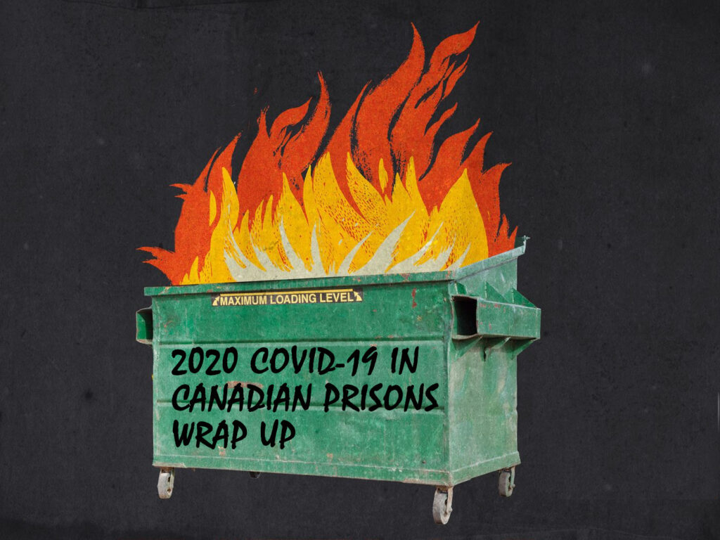 a burning dumpster with the title of the post written on the dumpster